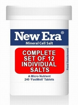 Complete Set of 12 New Era Individual Salts - SAVE £11.21 ON RRP.