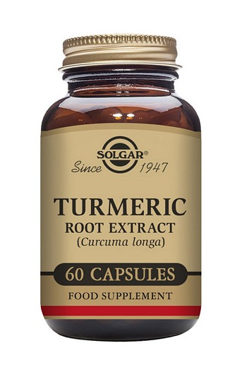 Solgar Turmeric Root Extract 60 Vegetable Capsules