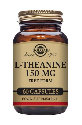 Solgar L-Theanine 150 mg 60 Vegetable Capsules