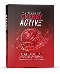 CherryActive Cherry Fruit Extract 60 One-a-day Capsules - Gout Relief