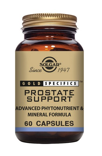 Solgar Gold Specifics Prostate Support 60 Vegetable Capsules