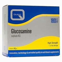 Quest Glucosamine Sulphate 1000mg 180 Tablets (2 X 90 Tablets Twin Pack) - SPECIAL OFFER!
