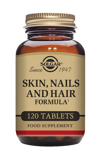 Solgar Skin, Nails and Hair Formula 120 Tablets