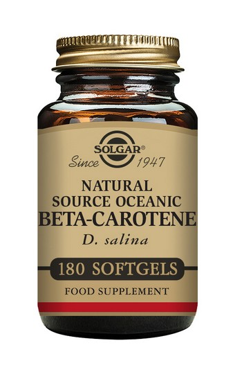 Solgar Oceanic Beta Carotene 7 mg 180 Softgels