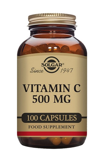 Solgar Vitamin C 500 mg Vegetable 100 Capsules