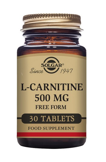 Solgar L-Carnitine 500 mg 30 Tablets