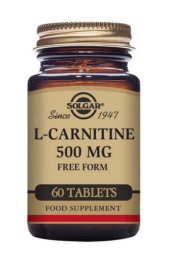 Solgar L-Carnitine 500 mg 60 Tablets