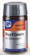 Quest Mega B Complex plus 1000 mg Vitamin C 60 Tablets - SPECIAL OFFER!