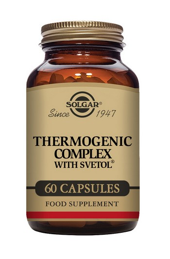 Solgar Thermogenic Complex with Svetol 60 Vegetable Capsules
