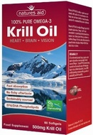 Natures Aid Krill Oil 500 mg 60 Softgels - SPECIAL OFFER!