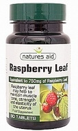 Natures Aid Raspberry Leaf 375mg 60 Tablets