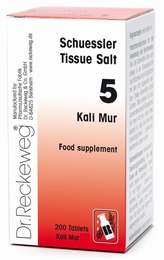 Schuessler Kali Mur No. 5 - 200 tablets - BULK OFFER!