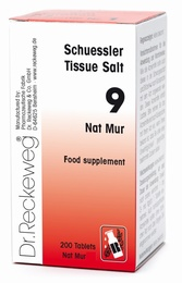 Schuessler Tissue Salt Nat Mur 9 - 200 tablets