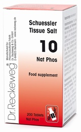 Schuessler Tissue Salt Nat phos 10 - 200 tablets