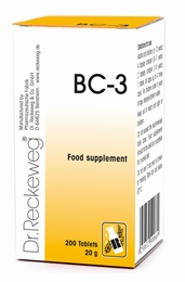 Dr Reckeweg BC-3 200 Tablets - BULK OFFER!