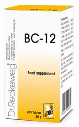 Dr Reckeweg BC 12 - 200 Tablets - BULK OFFER!