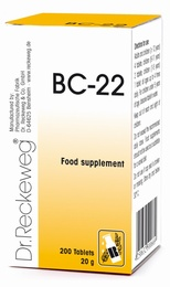 Dr Reckeweg BC-22 200 Tablets - BULK OFFER!