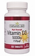 Natures Aid Vitamin D3 5000 iu 60 tablets - SPECIAL OFFER!