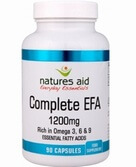 Natures Aid Complete EFA 1200mg 90 Softgels