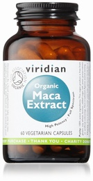 Viridian Organic Maca Root 60 Vegetable Capsules