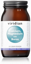 Viridian Calcium Magnesium with Boron 150g Powder