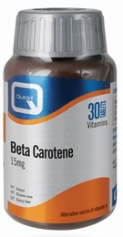 Quest Beta Carotene 15 mg 30 Tablets