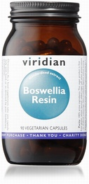 Viridian Boswellia Resin 90 Vegetable Capsules