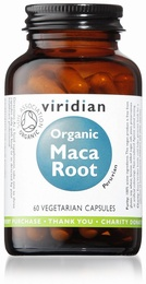 Viridian Maca Organic 60 Vegetable Capsules