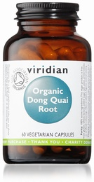 Viridian Dong Quai Root Organic 400mg 60 Vegetable Capsules
