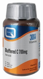 Quest Buffered C 700mg with Bioflavonoids 30 Tablets