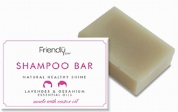 Friendly Soap Shampoo Bar - Lavender & Geranium 95g