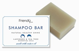 Friendly Soap Shampoo Bar - Lavender & Tea Tree 95g