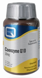 Quest Vitamins Coenzyme Q10 30mg 30 Tablets