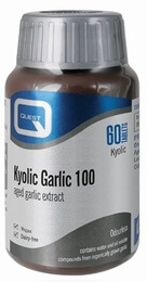Quest Odourless Kyolic Garlic 100 mg Extract 60 Tablets