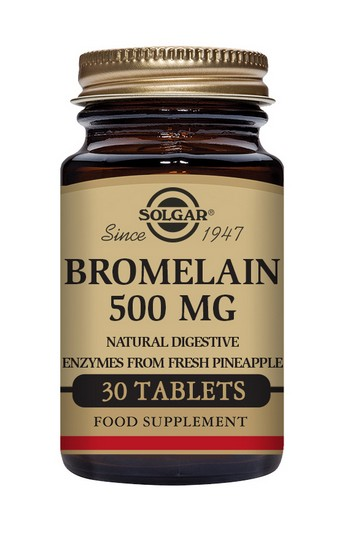 Solgar Bromelain 500mg 30 Tablets