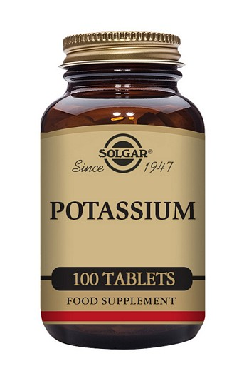 Solgar Potassium 99mg 100 Tablets