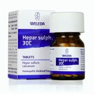 Weleda Hepar Sulph  Homeopathic Remedy 30C 125 Tablets