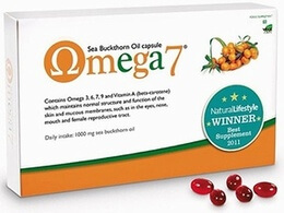 Pharma Nord Omega 7 Sea Buckthorn Oil 150 Capsules