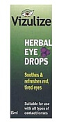 Vizulize Herbal Eye Drops 15ml