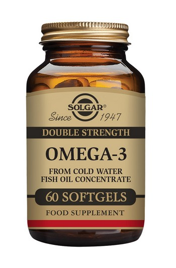 Solgar Omega-3 Double Strength 60 Softgels