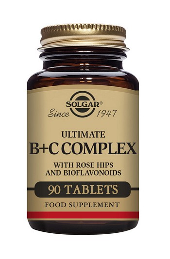 Solgar Ultimate B+C Complex 90 Tablets