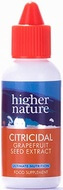 Higher Nature Citricidal Grapefruit Seed Extract Liquid 100ml