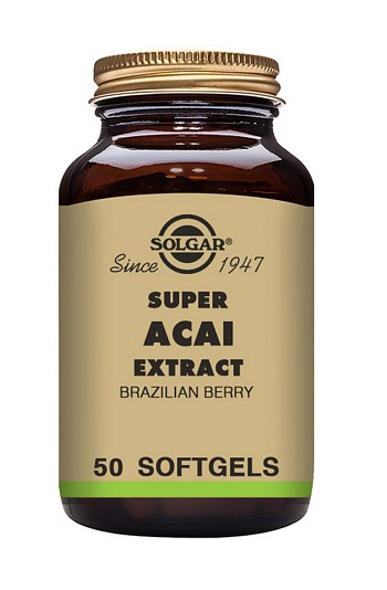 Solgar Super Acai Extract 3000 mg 50 Softgels