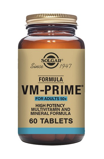 Solgar VM Prime Over 50s 60 Tablets