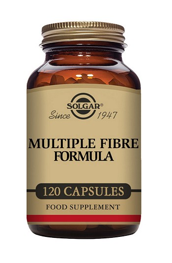Solgar Multiple Fibre Formula 120 Vegetable Capsules