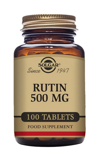 Solgar Rutin 500 mg 100 Tablets
