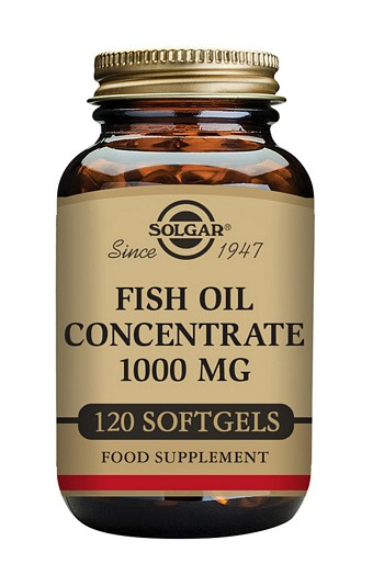 Solgar Fish Oil Concentrate 1000 mg 120 Softgels