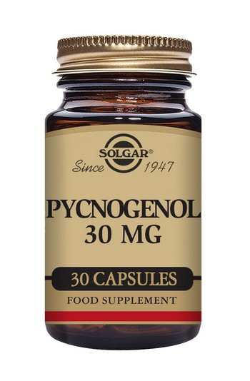 Solgar Pycnogenol 30 mg 30 Vegetable Capsules