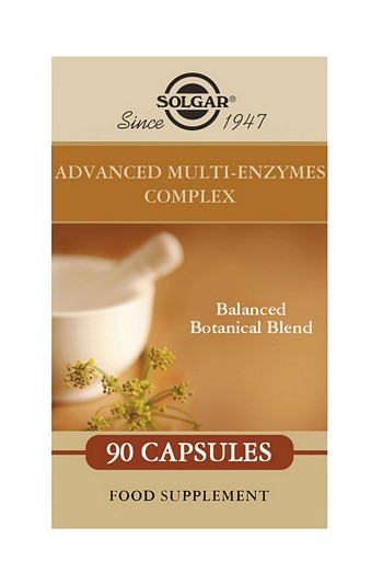 Solgar Advanced Multi-Enzymes Complex (formerly Comfort Zone) 90 Vegetable Capsules