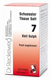 Schuessler Kali Sulph No. 7 - 200 tablets - BULK OFFER!